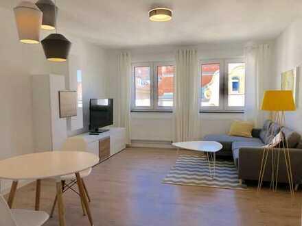 Stuttgart West: Bestlage mit Aussicht! Kernsanierte, vollmöblierte 2 Zimmer Wohnung!