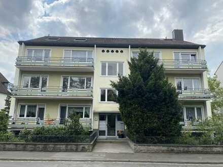 Erstbezug nach Sanierung mit Balkon: attraktive 2-Zimmer-Wohnung in Würzburg-Heidingsfeld