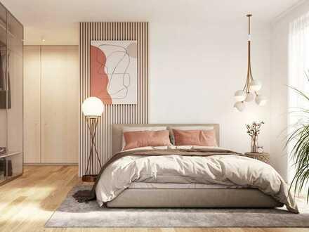 Purer Wohngenuss: Geschmackvolle 2-Zimmer-Wohnung mit Westbalkon in begehrter Lage