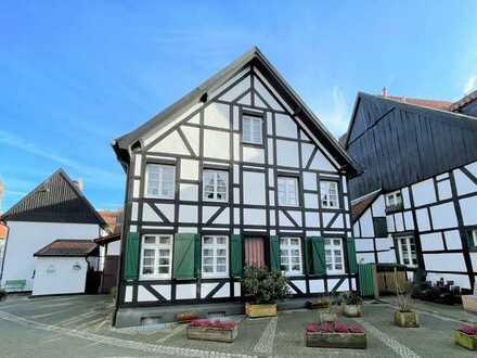 """Fachwerkhaus im grünen Idyll """"Altes-Dorf"""""""