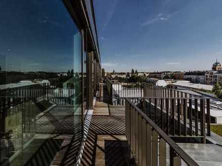 SA/SO RUF 0172-3261193, SOFORTBEZUG / Penthouse mit Dachterrasse, Lift, TG, Kamin, Sauna, etc.
