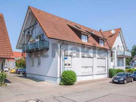 Gemütlicher Maisonette-Traum: Sonnige 3-Zi.-Whg. mit Balkon und 2 Stellplätzen bei Freiburg