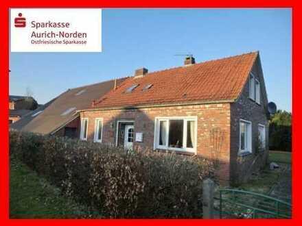 Saniertes Landhaus mit großem Grundstück in Ihlow - Ostersander