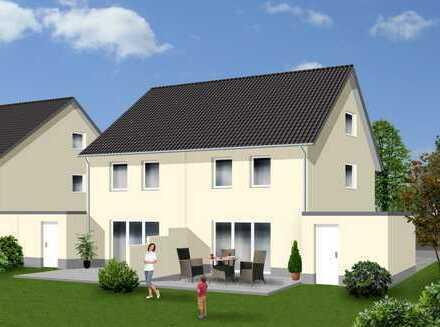 Schöne familienfreundliche Doppelhaushälfte - Komplettpreis - Haus (Nr. 1) inklusive Grundstück