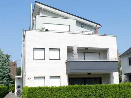 Troisdorf-Sieglar-Neubau! Sonnige, gepflegte 2-Zimmerwohnung mit gr. Balkon, Fußbodenheizung, G-WC!