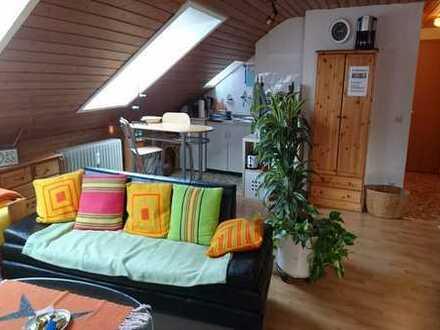 Online buchbar, ab 1 Monat: 1-Zimmerwohnung, löffelfertig möbliert inkl. Wlan, TV, Du/Wc, Küche