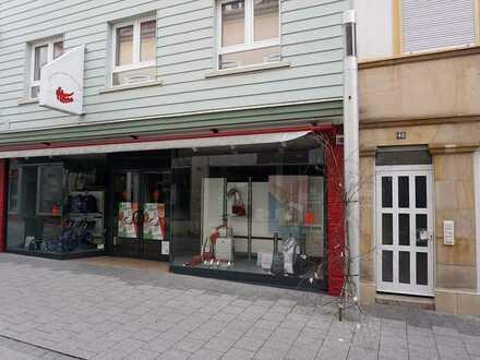 Langfristig vermietetes Geschäftshaus in bester Lage von Grünstadt