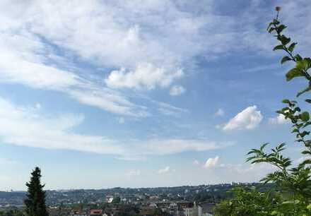 Zentrumsnah und doch in grüner Ruhiglage, geniessen Sie den Blick über Wuppertal