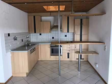 TOP ! 2-Zi. Penthouse-Wohnung in Senden-Ay - mit gr. Dachterrasse, EBK + TG-Stellplatz