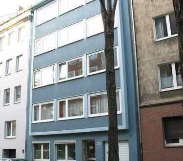 Gut vermietete, gepflegte 2-Zimmer-Wohnung mit Balkon in Düsseldorf-Pempelfort