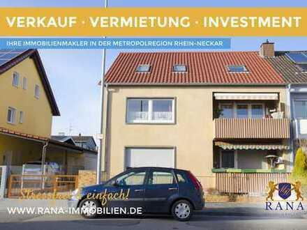 Großzügige Etagenwohnung mit optimaler Raumaufteilung · 2 Balkone & Garage
