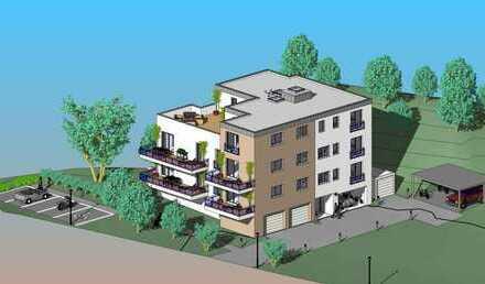 Komfort. 3,5-Zi.-Wohnung mit Garage, Balkon u. Domblick