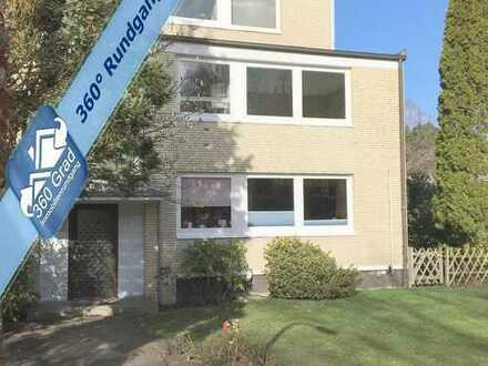 Gut geschnittene, renovierungsbedürftige Eigentumswohnung mit Balkon und TG-Stellplatz in Blankenese