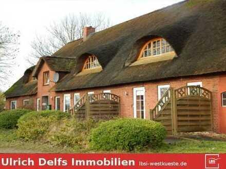 Großartiger, hist. Friesenhof unter Reet in bester Lage bei St. Peter-Ording mit 15.000 m² Land