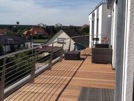 Sonne und Weitblick auf dem Balkon genießen - 4 1/2 -Zimmerwohnung der Luxusklasse