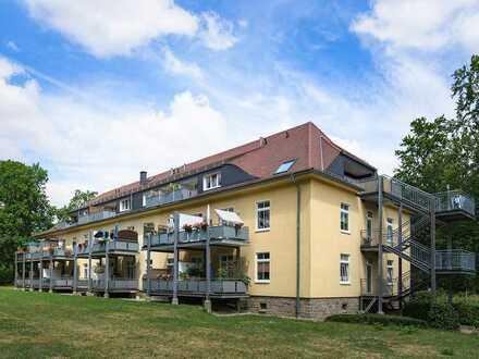 Fliegerhorst: Helle 2-RW mit Balkon im DG...