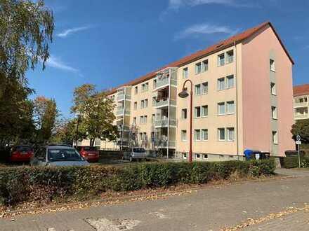 3-Zimmer-Wohnung mit Balkon und herrlichem Blick von oben