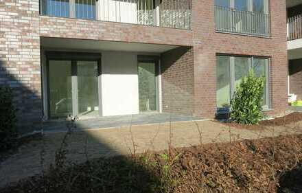 Erstbezug: barrierefreie 2-Zimmer-Wohnung im EG mit Terrasse in Waldnähe in Hannover-Kirchrode