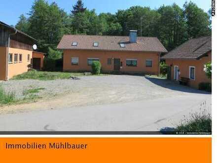Anwesen m. 5.000 m² Grd.,Stallungen,Stadel,eigener Bachlauf,Fischteich in Alleinlage