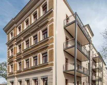 Traumhafter Erstbezug + Parkett + Fußbodenheizung + großer Balkon + tolles Bad + LED-Licht