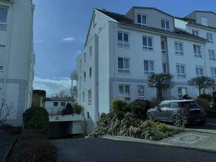 Exklusive 3-Zi.-EG-Wohnung mit Garten in Bad Soden, Feldrandlage