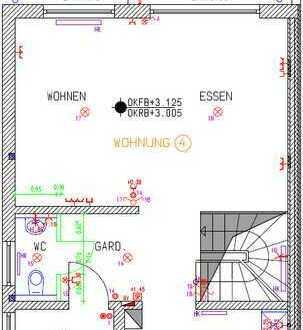 3-Zimmer-Maisonette-Wohnung mit Balkon und 2 Stellplätzen