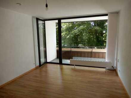 freiwerdende 1-Zimmer-Wohnung mit Balkon, EBK, Stellplatz in Linkenheim-Hochstetten