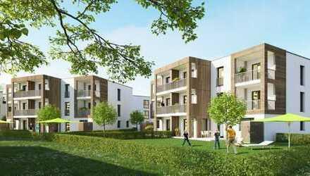 Schicke 2 Zimmer-Wohnung *Neubau-Erstbezug* mit Balkon und EBK