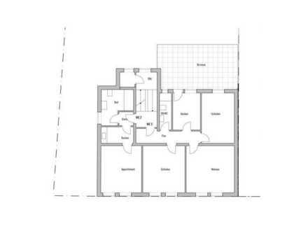 4-Zimmer-Wohnung im Altbau mit Balkon in Bochum Weitmar-Mitte WE 3