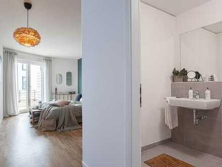 Großzügige, helle 3-Zimmer-Wohnung mit XXL- Wohnzimmer und Balkon