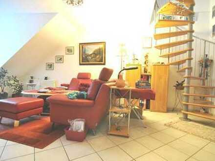 Elegante und schön modernisierte Maisonette Wohnung