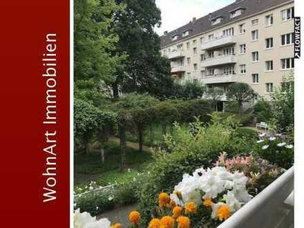 Rarität im Rosenhof! Tolle 3,5 Raum Erdgeschosswohnung mit Balkon
