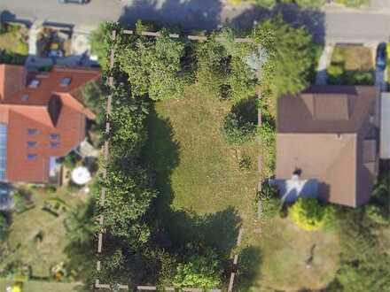 Baugrundstück mit grüner Weitsicht