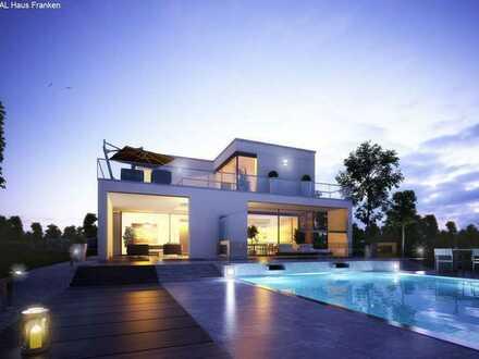 Architektenhaus der Extraklasse mit Grundstück + Luxus-Ausstattung!