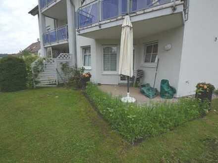 Gepflegte 2-Zimmer-Eigentumwohnung mit Gartenanteil in Bad Schussenried