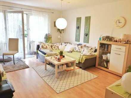 Kapitalanleger aufgepasst: Vermietete EG-Wohnung (2 ZKB) mit Balkon und Garage in Landau