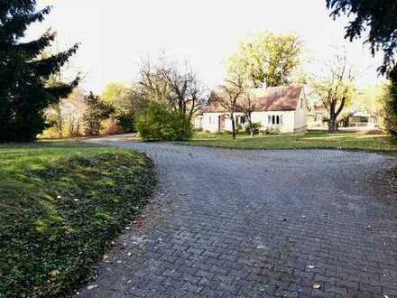 Großes Baugrundstück mit Altbestand in Hörzhausen - Nähe Schrobenhausen