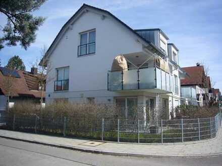 Neuwertige 3-Zimmer-Erdgeschoss-Gartenwohnung in Obersendling / Solln