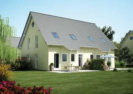 DHH mit Keller in KFW 40 Plus und Grundstück - weil uns wichtig ist, wie Sie wohnen!