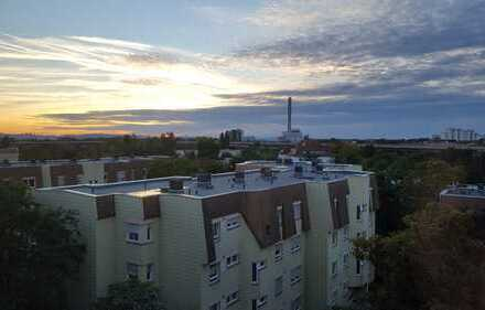 3,5-Zimmer-Wohnung mit überdachtem Balkon und tollem Ausblick in Ludwigshafen - Mitte