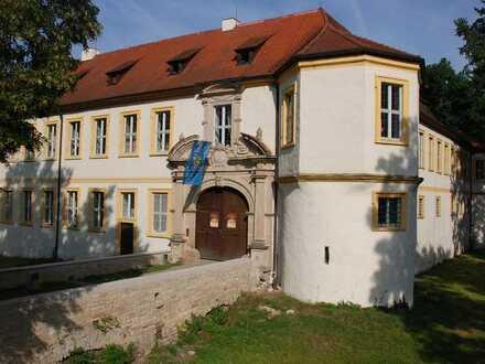 Helles und komfortables Apartment im Schloss Wonfurt - perfekt für Ihr Homeoffice geeignet