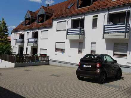 Fischach modernisierte 2 ZKB, Balkon im 1.Stock