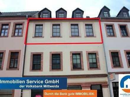 Schöne helle 2-Zimmer Wohnung im Herzen von Rochlitz