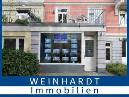 PROVISIONSFREI: Gut frequentierte Ladenfläche im belebten Hamburger Stadtteil Eppendorf