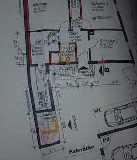 Neu sanierte 3,5 ZKB-Wohnung mit Stellplatz und Gartenmitbenutzung in Hockenheim