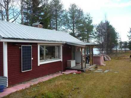 Nordschweden - rustikales Ferienhaus(Stuga) mit Wassergrundstück
