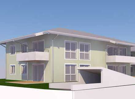 Neubau und Erstbezug. 3-Zimmer-Wohnungen mit Blick auf das Alpenpanorama