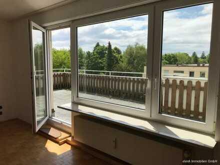 elvirA! Untermenzing, helle und ruhige 3-Zimmer-Wohnung mit herrlicher Dachterrasse