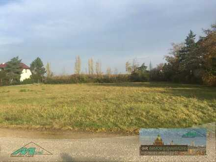 Baugrundstück mit 2750 m² nahe des Cospudener Sees zu verkaufen