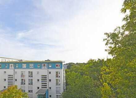 Traumhafte Lage direkt am Pasinger Stadtpark/Würm - 2-Zi.-Dachterrassenwohnung